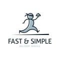 快速和簡單的Logo