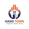 Hand Town  logo