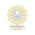 Organic King  logo