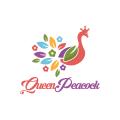 孔雀女王Logo