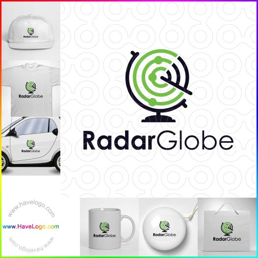 Radar Globe  logo - ID:65477