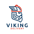 Viking Delivery  logo