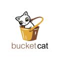 Bucket Cat  logo