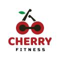 櫻桃健身Logo