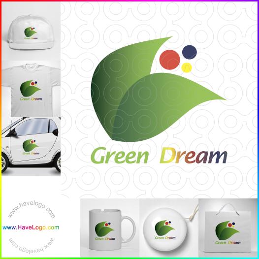 綠色的夢logo設計 - ID:65573