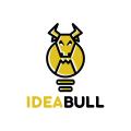 思想的公牛Logo