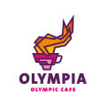 Olympia Olympic Cafe  logo