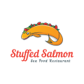 Stuffed Salmon  logo
