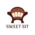 甜蜜的坐Logo