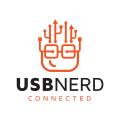 USB連接Logo