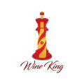 Wine King  logo