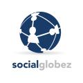 global social networking logo