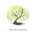 神秘的柳Logo