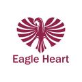 鷹的心Logo