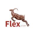 Flex開始Logo