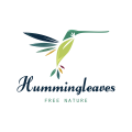 Hummingbird Leaves  logo