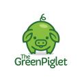 綠色的小豬Logo