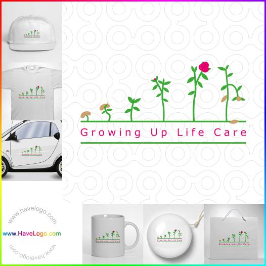 care center logo - ID:35428