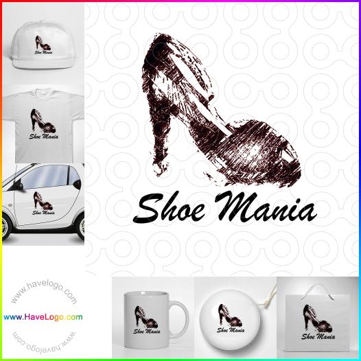 時尚鞋logo設計 - ID:35407