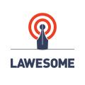 法律logo
