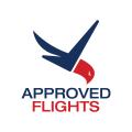 Approved Flights  logo