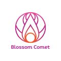 開花的彗星Logo