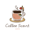 Coffee scent  logo