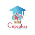 Cupcakes Graduation  logo