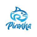 食人魚Logo