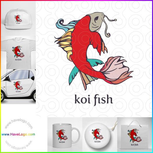 sushi bar logo - ID:35325
