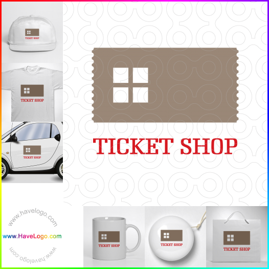 ticket logo - ID:6