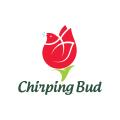 Chirping Bud  logo