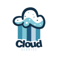 Cloud washing service  logo