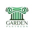 Garden Pantheon  logo