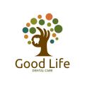 好生活的牙科保健Logo