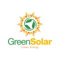 綠色的太陽Logo