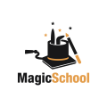 Magic School  logo
