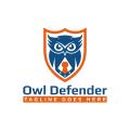 貓頭鷹的後衛Logo
