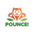 Pounce!  logo