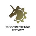 獨角獸鑽井煉油廠Logo