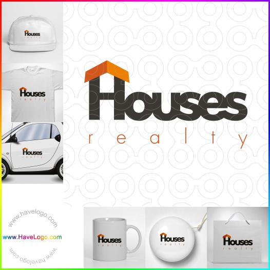 房地產經紀人logo設計 - ID:148