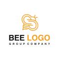 蜜蜂的標誌Logo