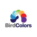 鳥的顏色Logo