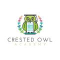 Crested Owl Academy  logo