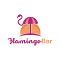 Flamingo Bar  logo