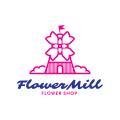 Flower Mill  logo