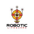 機器人救生員Logo