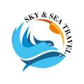 天空和大海Logo