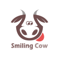 微笑的牛Logo