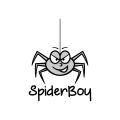 蜘蛛男孩Logo